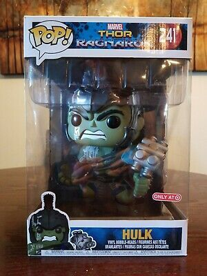 Details About Funko Pop 241 Hulk Thor Ragnarok 10 Inch Figure Target Exclusive Read Desc In 2020 Hulk Vinyl Figures