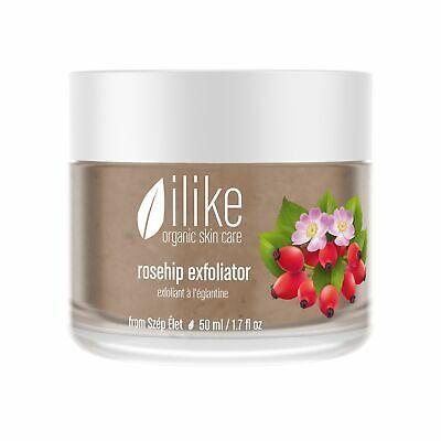 Advertisement Ilike Organic Skin Care Rosehip Exfoliator 1 7 Oz Organic Skin Care Skin Care Peeling Skin