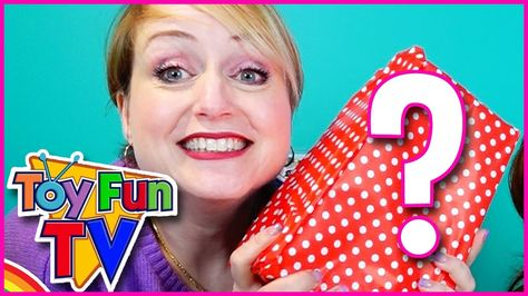 Giant Toy Surprise Box! What's Inside From Toy Fun TV