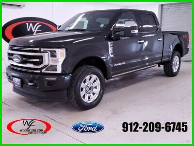 Ebay Advertisement 2020 Ford F 250 Platinum 2020 Platinum New Turbo 6 7l V8 32v Automatic 4wd Pickup Truck Moonroof Pre In 2020 2019 Ford Ford Super Duty Trucks Ford