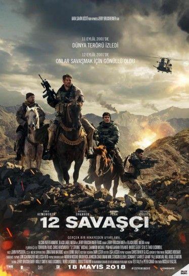 12 Savasci 12 Strong Full Hd Tek Parca 1080p Turkce Dublaj Ve Turkce Altyazili Filmi Izle 12 Savasci Izle 11 Eylul S Savas Filmi Aksiyon Filmleri Tam Film