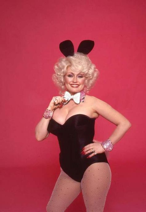 1978 Bunny Girl Dolly Parton Seduces The Easter Bunny Dolly