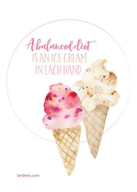 Gift for Ice Cream Lovers Men/'s Long Sleeve Shirt