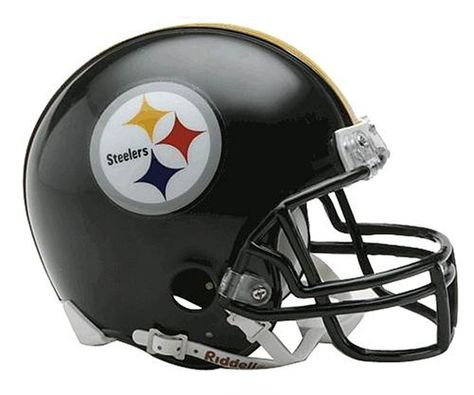 079207ae597 NFL Pittsburgh Steelers Replica Mini Football Helmet by Riddell.  19.99. Riddell  Pittsburgh Steelers NFL Replica Mini Helmet w Z2B Mask