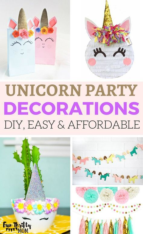 Affordable Diy Party Decoration Ideas