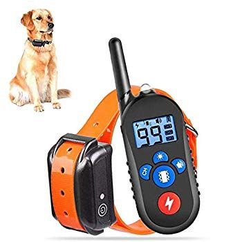 Fxqin Waterproof Dog Training Collar Dog Shock Collar With Remote
