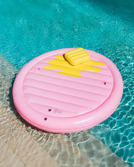 Funboy The Pancake Lounger Pool Float Funboy Pool Floats Cute Pool Floats Cool Pool Floats