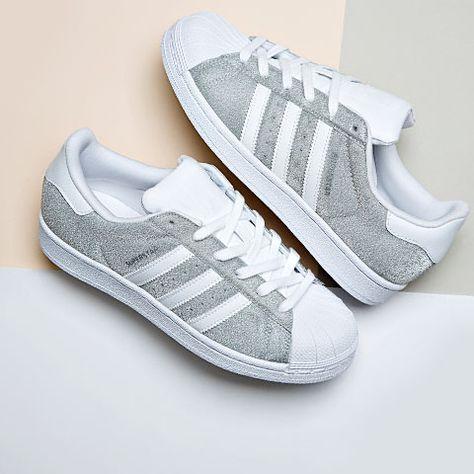 adidas superstar silver glitter junior