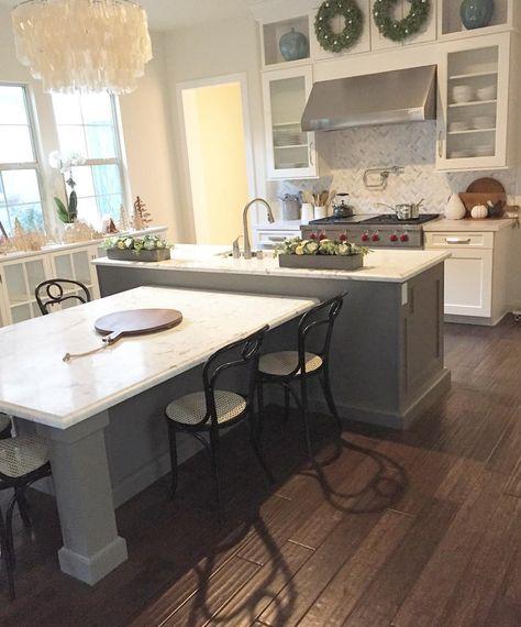 57 Kitchen Island With Table Ideas Kitchen Design Kitchen Remodel New Kitchen