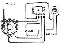 Schema Elektro Alternator