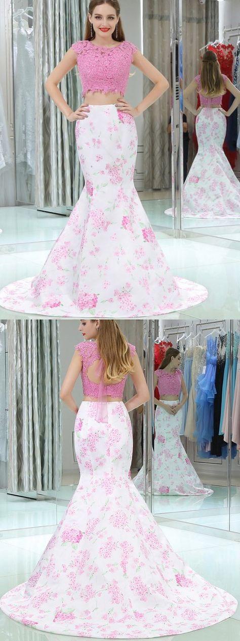 0267dd3ba2 List of Pinterest pron dresses pink mermaid two pieces images   pron ...