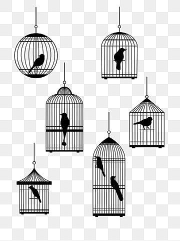 Cage Bird Png Image Bag Display Bird Pendant Light