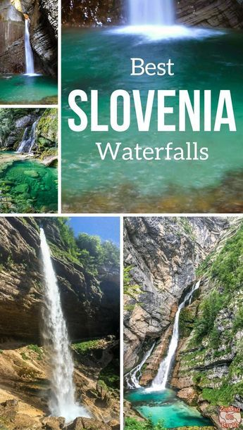 Slovenia Travel Guide - Discover the most beautiful waterfalls in Slovenia - enchanting ans surrounded by forest : Virje, Boka, Kozjak, Savica, Pericnik, Rinka and more... Beautiful photos and info on how to get there | #Slovenia #Ifeelslovenia | Slovenia Itinerary | Things to do in Slovenia