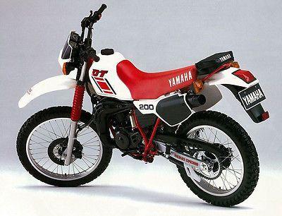 Yamaha Poster Dt200 Trail Superb Suitable To Frame Yamaha Motorcycle Expo Yamaha Bikes