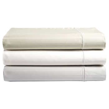 Hotel Signature Sateen Woven Stripe 6 Piece 800tc Sheet Set Costco Sheet Sets Sheet Thread Count Best Sheet Sets