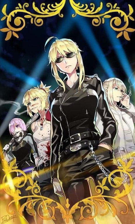 Press B To Be Dominated Saber Fate Anime Series Anime Character Art