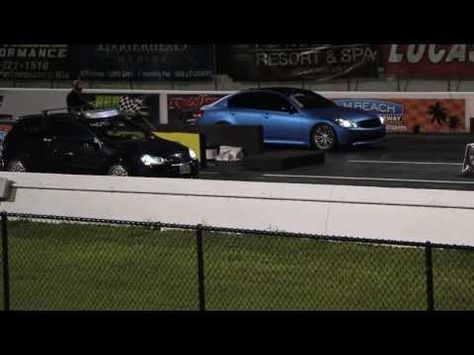 Infiniti G35 Sedan Vs Mkv Volkswagen Gti 1 4 Mile Volkswagen Drag Racing Resort Spa