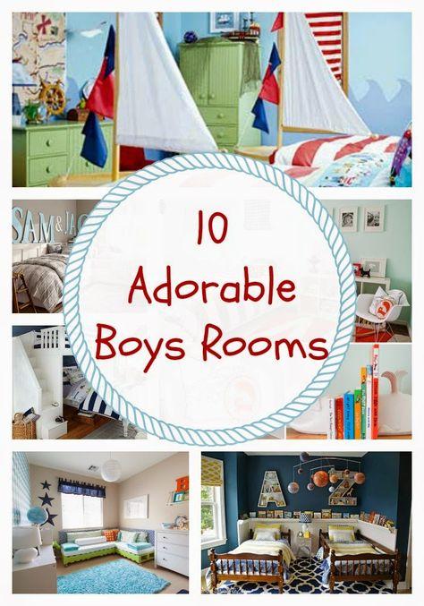 24 Cottonwood Lane: 10 Adorable Boys Rooms