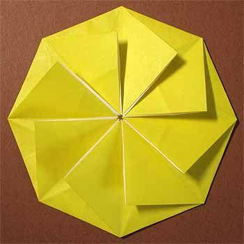 折り紙で菊の花の折り方 立体で少し難しい作り方に挑戦 セツの
