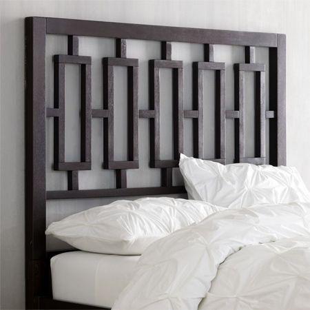 Diy West Elm Window Lattice Decorative Headboard Window Headboard Headboards For Beds Modern Bedroom Furniture