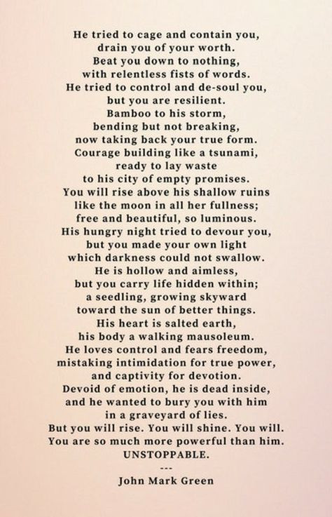 Inspirational Prints - Survivor Poem - Poetry and Quotes - Unstoppable by John Mark Green