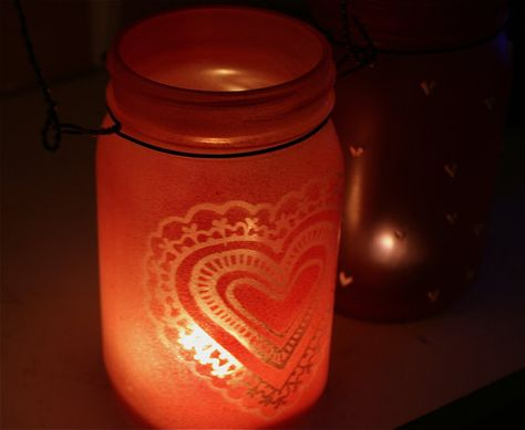 List Of Pinterest Valentines Day Decorations Outdoor Mason Jars
