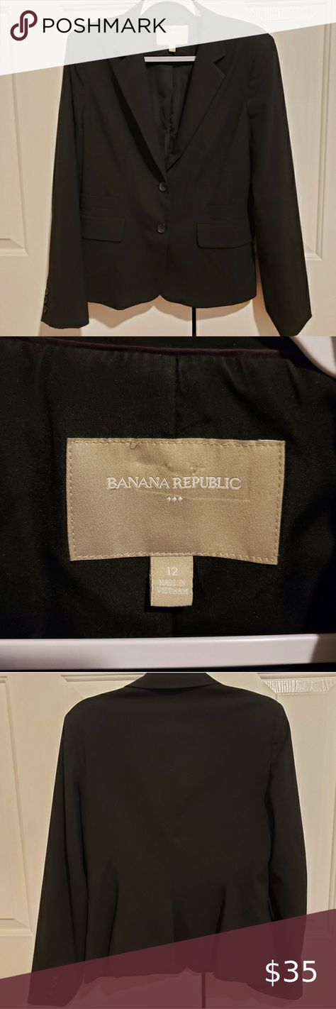 Check out this listing I just found on Poshmark: Banana Republic Button Blazer/Suit Jacket. #shopmycloset #poshmark #shopping #style #pinitforlater #Banana Republic #Jackets & Blazers