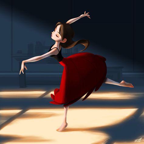 ArtStation - Dance, miacat miacat