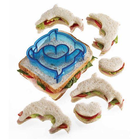Delphin Sandwich Ausstecher Keks und Brot Ausstechformen für Kinder