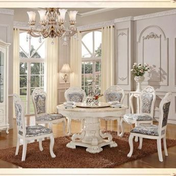 Luxury Royal Design Dining Table Set Dining Room Furniture Classic Dining Room Furniture Dining Table Design Modern