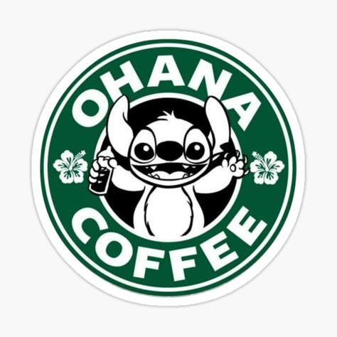 Starbucks stickers featuring millions of original designs created by independent artists. Starbucks Logo, Disney Starbucks, Custom Starbucks Cup, Starbucks Coffee, Disney Poster, Disney Logo, Ohana, Thomas Kinkade Disney, Stitch Disney