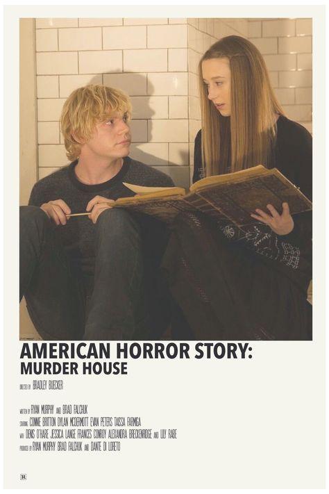 alternative movie posters american horror story
