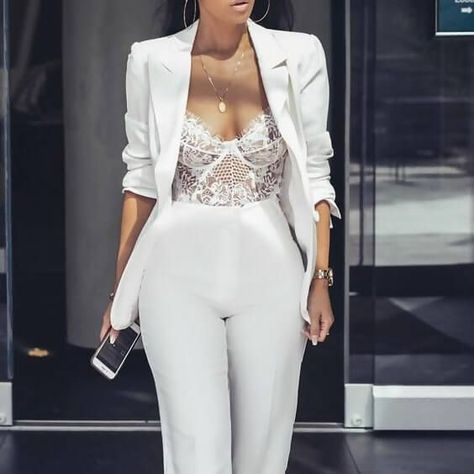 The Chicest 31 All-White Party Outfits for Wome
