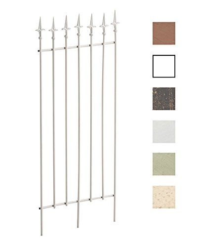 Gardinia Supporto Rustico Aperto per /Ø 25 mm Bronzo 12 cm Metallo