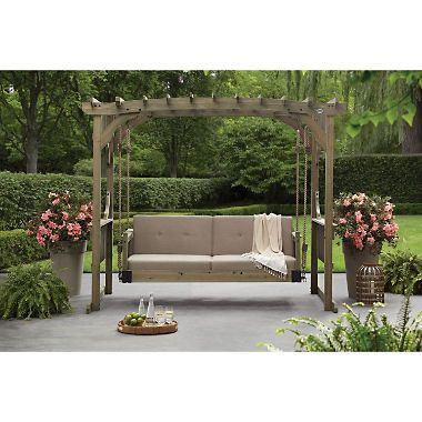 Backyard Discovery Hanging Lounger Sam S Club Outdoor Bed Swing Outdoor Daybed Diy Outdoor Furniture
