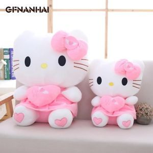 1PC 40//50 cm Super cute Hello Kitty doll cat plush toy birthday gift
