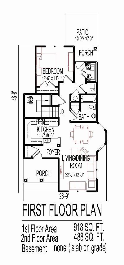 1600 Foot House Plans Inspirational Simple Dream House Floor Plan Drawings 3 Bedroom 2 Story Narrow Lot House Plans Floor Plan Drawing Modern House Plans