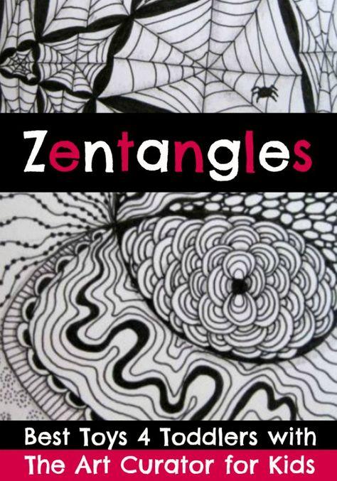 The Art Curator for Kids - Zentangles