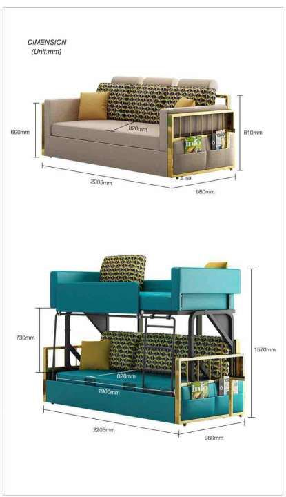 Double Bunk Sofa Bed Buy Sell Online Beds With Cheap Price Lazada Singapore In 2020 Bed Price Bunk Beds Sofa