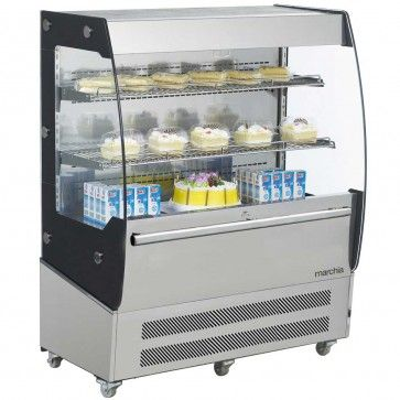 Marchia Mds200 40 Open Air Cooler Grab And Go Refrigerator