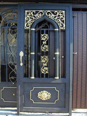 Disenos De Puertas De Herreria Mas Modernas Y Mas Hermosas Puertas Herreria Disenos De Puertas Metalicas Puertas De Entrada