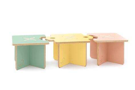 Sgabello montessori ~ Casacoco lapo sgabello e tavolino modulare per bambino modular