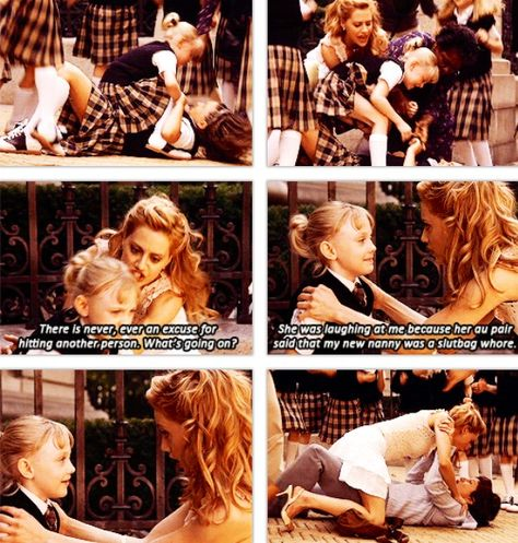 """This doesn't accurately capture how Dakota Fanning said """"au pair"""". It's pretty great. Love this movie. RIP Brittany Murphy though"""