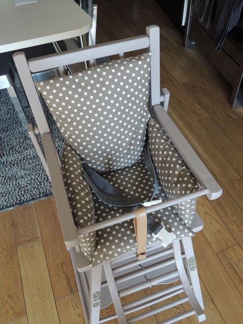 Relooking D Une Chaise Haute Combelle Chaise Haute Combelle
