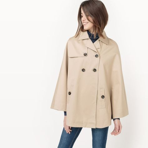 coat jacket Pinterest Long trench Pure Products by sleeve short q8rrwvtI
