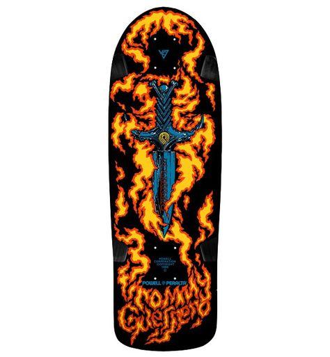Powell Skateboard Deck Peralta Tommy Guerrero Limited Edition 9.6 Skat