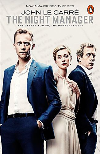 The Night Manager (TV tie-in) (Penguin Modern Classics) Paperback – 11 Feb 2016 by John le Carré. Link (Amazon): http://www.amazon.co.uk/Night-Manager-Penguin-Modern-Classics/dp/0241247527