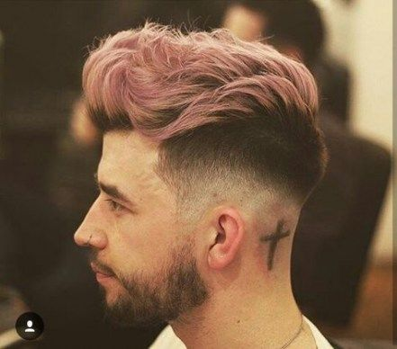 31 Ideas Hair Dyed Ideas Men Short hair