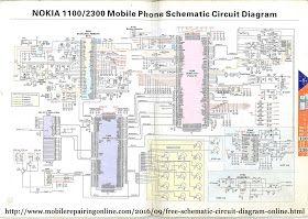 Mobile Phone Circuit Diagram Circuit Diagram Mobile Phone Smartphone Repair