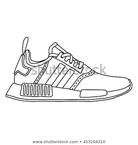 Sneakers Hanging Stock Images Royalty Free Images Shoes Sneaker Sketch Icon Sneakers Shoe Template Adida Sneakers Sketch Shoes Sneakers Nike Shoe Template